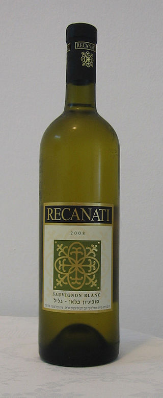 вино Sauvignon blanc производства Израиля