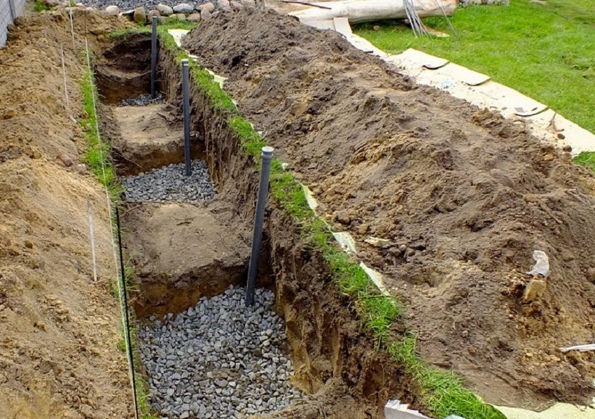 дренаж почвы до посадки винограда